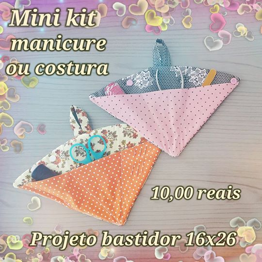 Mini Kit Manicure ou Costura